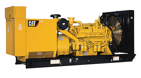 Caterpillar 3412 engine and generator